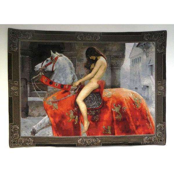 Lady Godiva Wall Tapestry
