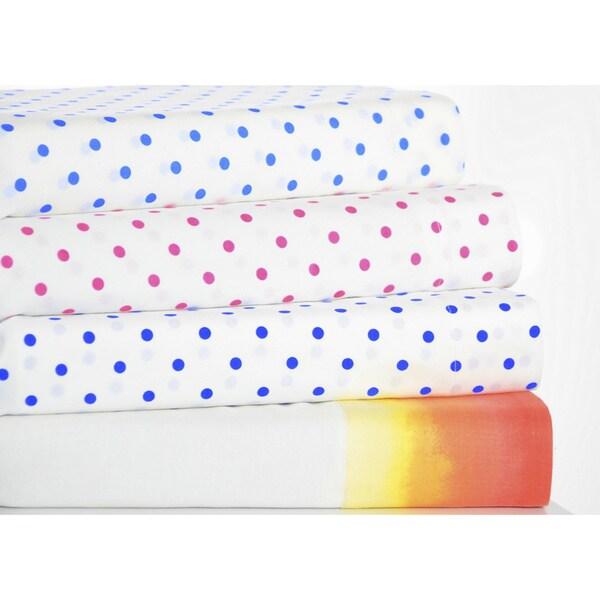 Teen Vogue Wrinkle-resistant Printed Sheet Set