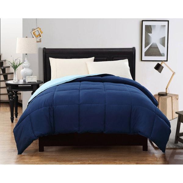 Caribbean Joe Reversible Down Alternative Comforter