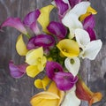 The Bouqs Company 'Dragonfly' Deluxe Calla Lilies Flower Bouquet
