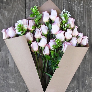 The Bouqs Company 'Above and Beyond' Deluxe Pink Flower Bouquet
