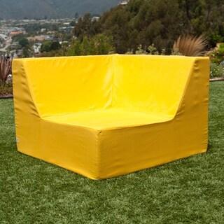 Softblock LowBoy Yellow Indoor/Outdoor Corner Chair