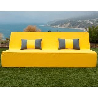 Softblock LowBoy Yellow Indoor/Outdoor Sofa