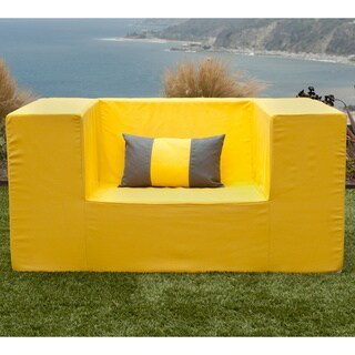 Softblock LowBoy Yellow Indoor/Outdoor Arm Chair