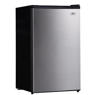 SPT Stainless Steel 4.4 cu. ft. Compact Refrigerator with Energy Star