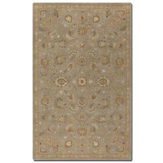Torrente Light Grey Wool Rug (8' x 10')