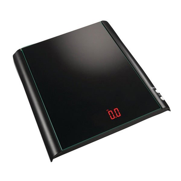 Black Glass Kitchen Scale