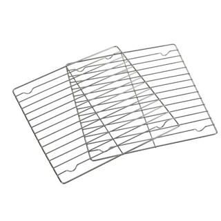 Ekco Chrome Plated Cooling Racks (Set of 2)