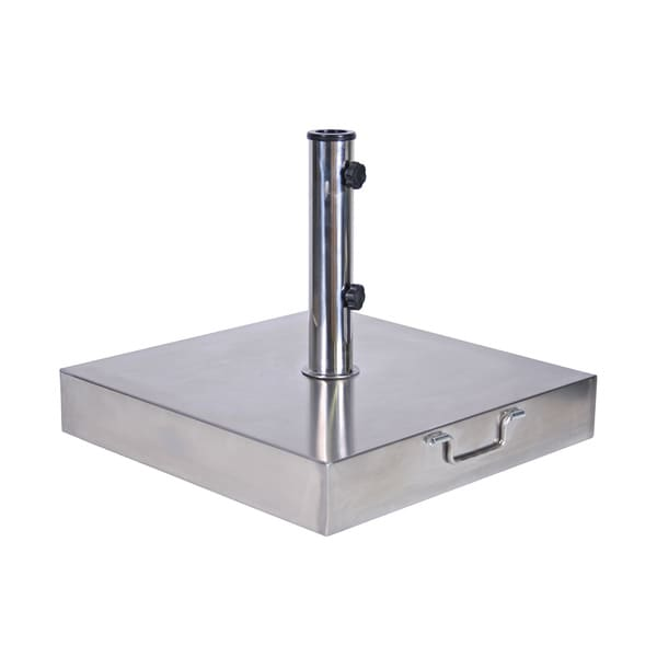 MiYu Furniture Commercial-grade Stainless Steel Square Umbrella Base
