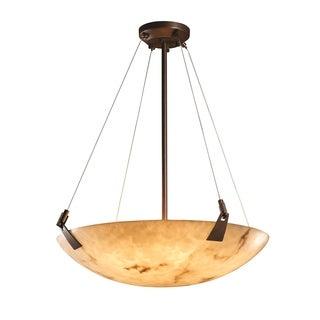 Justice Design Group LumenAria 6-light Tapered Clip Dark Bronze Pendant