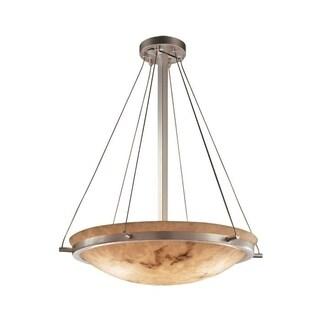 Justice Design Group LumenAria 6-light Brushed Nickel Pendant