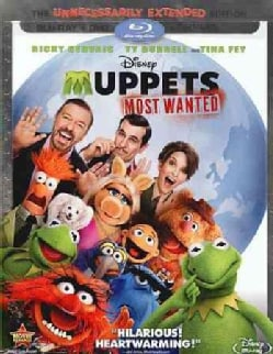 Muppets Most Wanted (Blu-ray/DVD)