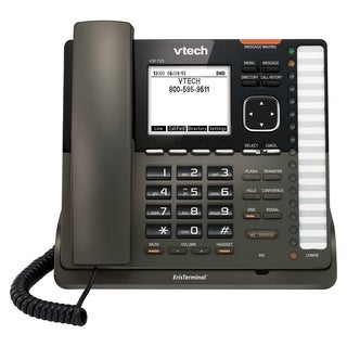VTech ErisTerminal VSP735 IP Phone - Wireless - Desktop, Wall Mountab