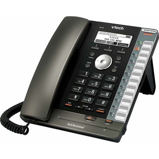 Black Eris Terminal VoIP Corded Phone