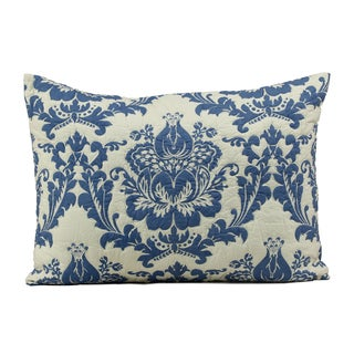 Dalilah Blue Cotton Standard Sham