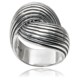 Tressa Collection Sterling Silver Ring