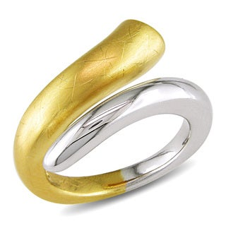 Miadora Gold Over Sterling Silver Ring