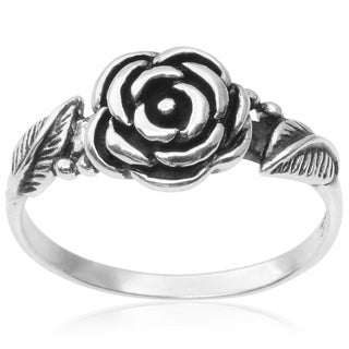 Tressa Collection Sterling Silver Flower Ring