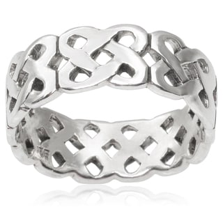 Tressa Collection Sterling Silver Band (7 mm)