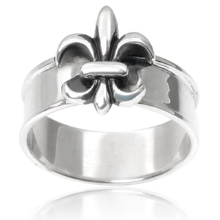 Tressa Collection Sterling Silver Fleur-di-lis Ring