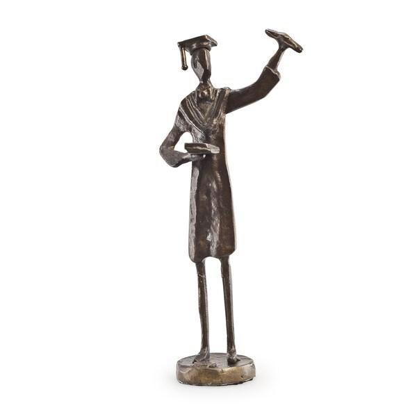 Graduate Bronze Sculpture