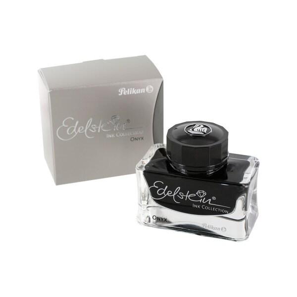 Pelikan Edelstein Bottled Fountain Pen Onyx Ink Refill, 50ml