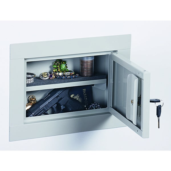 Stack-On In Wall Pistol Security Cabinet