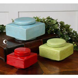 Uttermost Lorado Ceramic Containers (Set of 3)