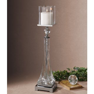 Grancona Twisted Glass Candle Holder