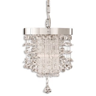 Uttermost Fascination Crystal Lighting Fixture Mini Pendant