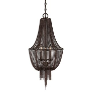 Uttermost Lezzeno 3-light Metal Lighting Fixture Chandelier