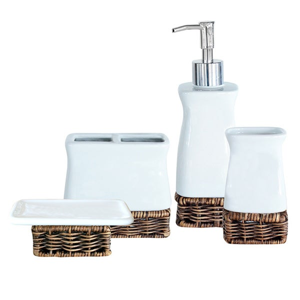 Greeley 4-piece Bath Accessory Set