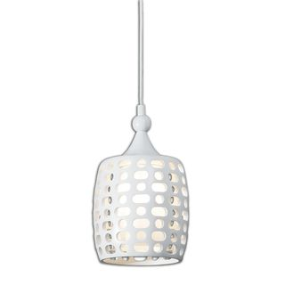 Modernismo 1-light White Mini Pendant