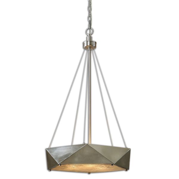 Uttermost Tesoro 3-light Antique Nickel Pendant
