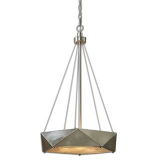 Tesoro 3-light Antique Nickel Pendant