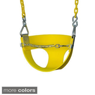 Gorilla Playsets Half Bucket Toddler Swing