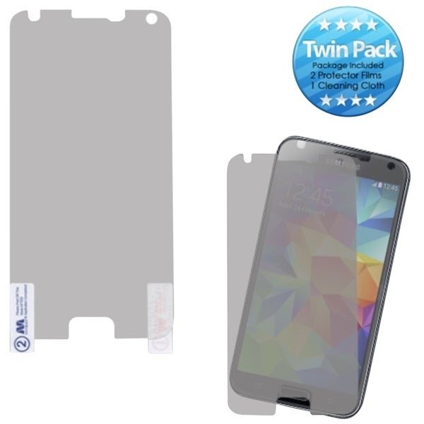 INSTEN Clear Transparent Screen Protector Film Guard for Samsung Galaxy S5 SV (Pack of 2)