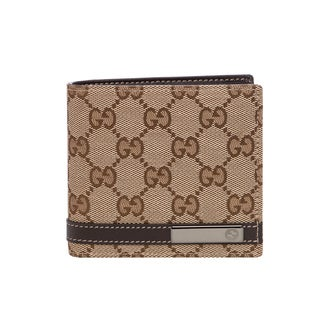 Gucci GG Canvas Bi-fold Wallet