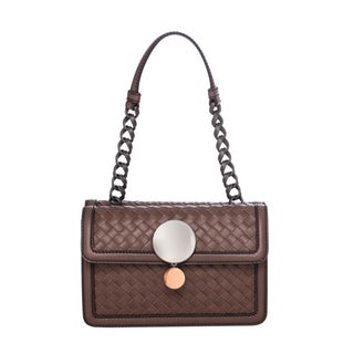 Bottega Veneta Intreccio Border Sphere Shoulder Bag