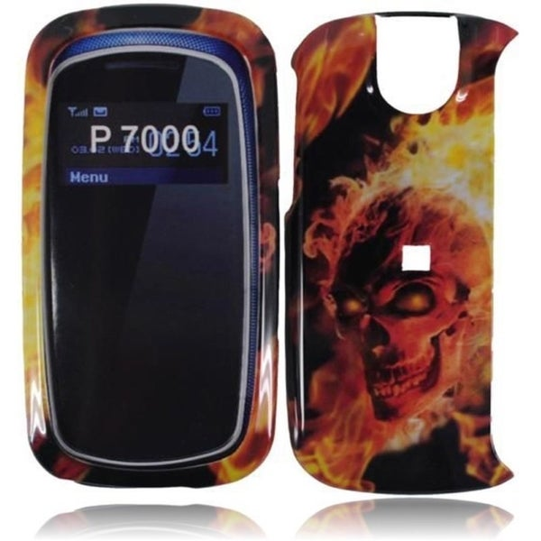 INSTEN Hard Plastic Protective Design Cover Phone Case Cover for Pantech Impact P7000