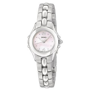 Seiko Women's SXGN09 Silvertone Dress Watch