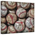 David Liam Kyle 'Baseballs' Gallery-Wrapped Canvas