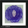 Studio Works Modern 'Crystal Flower' Framed Fine Art Print