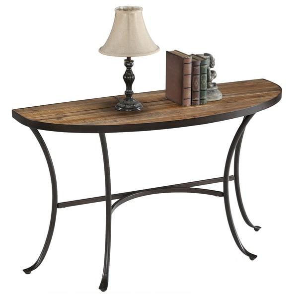 Emerald Berkely Reclaimed Wood Sofa Table