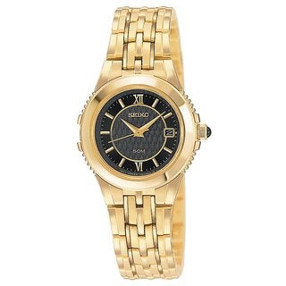Seiko Women's SXDA04 Le Grand Goldtone Sport Watch