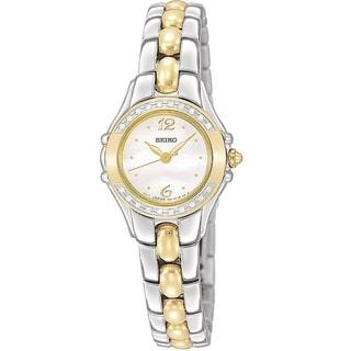 Seiko Women's SXGN16 Two-tone Diamond Dress Watch