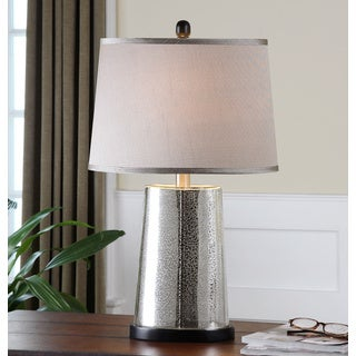 Uttermost Arnez Speckled Mercury Glass Table Lamp