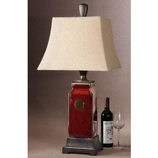 Uttermost Reggie Table Porcelain and Resin Table Lamp