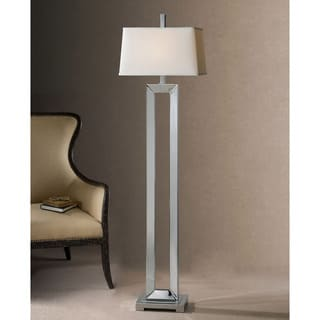 Uttermost Coffield Polished Chrome Floor Lamp