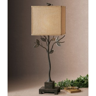 Arbre Branch and Bird Lamp